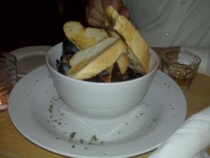 Mussels at Joe V's