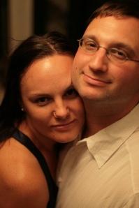 Jenny and Nathan at Marliave